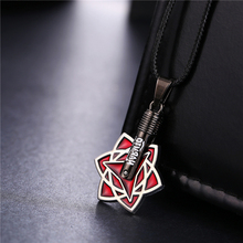 Fashion anime Naruto necklace Itachi Uchiha Sasuke Mangekyou Sharingan pendant Necklace naruto cosplay jewellry