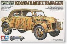 TAMIYA 1/35 scale models 35235 World War II Germany Steyr 1500A senior officers to contact the car(China)