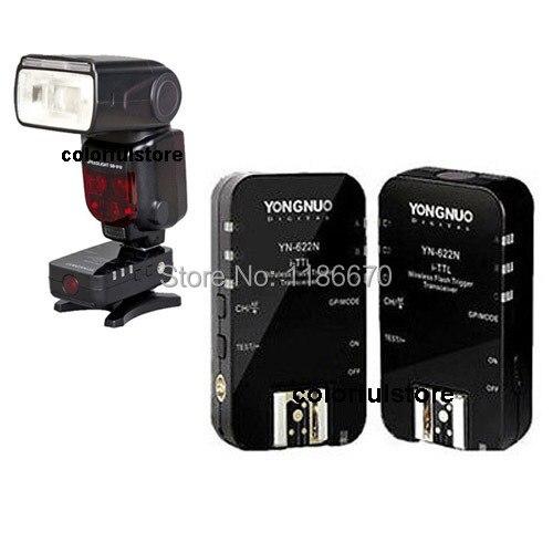 1/8000s 2.4GHz YongNuo YN-622N YN622N YN-622 YN622 N YN 622 N 622N Wireless TTL Flash Trigger Transceiver for Nikon Flash Camera<br><br>Aliexpress