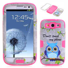 For Samsung Galaxy S3 Case Silicone Shockproof Hybrid Armor Rubber Heavy Duty Case Cover for Galaxy S3 i9300 Phone Back Cover