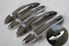 FUNDUOO For VW PASSAT B6 3C 2006 2007 2008 2009 2010 2011 Passat CC 2009-2012 New Chrome Car Door Handle Cover Trim(China)