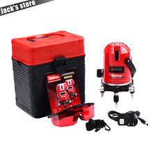 Mtian, 5 lines 6 points laser level Tilt Function 360 rotary Self Lleveling cross laser line leveling outdoor model tools(China)