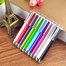 Fiber Cloth Tip Stylus Pen for iPhone Samsung Galaxy Note 4 5 6 Ipad Air Mini 2 1 4 Lenovo Tablet Touch Sensor Panel Mobile Pen