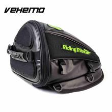 RIDING TRIBE PU Leather Motorcycle Oil Tank Bag Motorbike Travel Tool Tail Bags Luggage Waterproof Riding Handbag Backpack