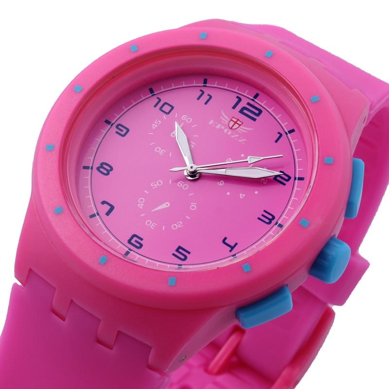 Freeship&amp;dropship epozz 859 Hot Sale Fashion Jelly Quartz Women Dress Watches reloj de manera mesa de silicona 10 colores<br><br>Aliexpress