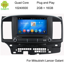 Android 5.1 Car in-dash GPS Navigation For Mitsubishi Lancer 2014 2015 Quad Core HD 1024*600 Screen Car DVD Head Unit Stereo