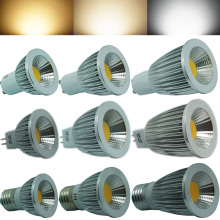 10X 9W 12W 15W 18W COB Dimmable Gu10 LED spotlight bulb Spot Light  AC85-265V LED MR16 12V Downlight Warm White Red Blue Green