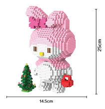 Bevle HC 9026 1316Pcs Melody Japanese anime Cartoon DIY Magic Blocks Diamond Building Block Toys Compatible with LEPIN