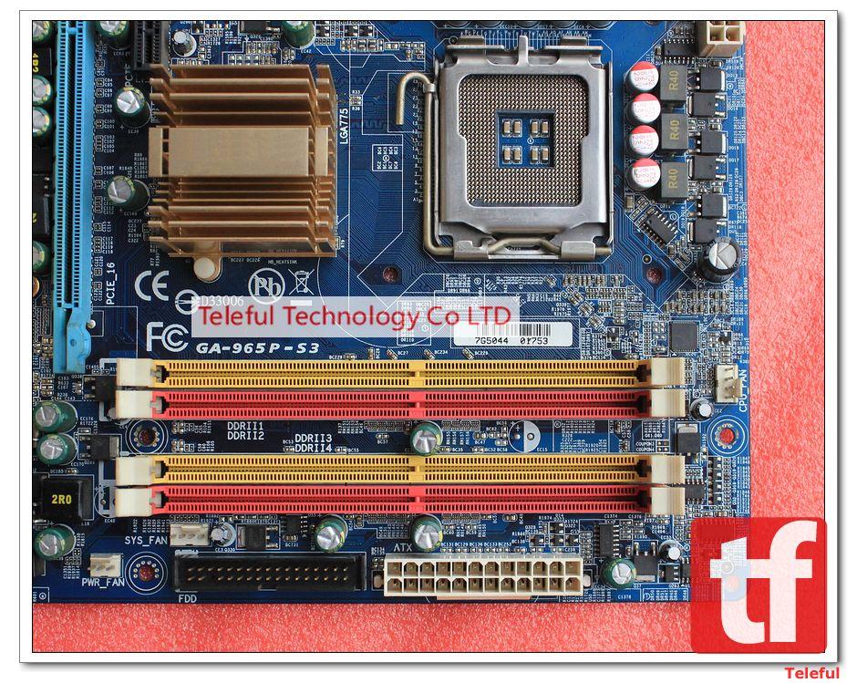 Gigabyte ga-965p-s3 user manual