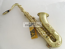 tenor saxophone Free shipping SELMER sts-r54 b  tenor saxophone musical instrument antique brass wire drawing sax