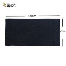 Zipsoft Black Beach Towel Microfiber 99*47cm Football Basketball Swimming Pool Camping for the Bath Compressed Towel Swimwear