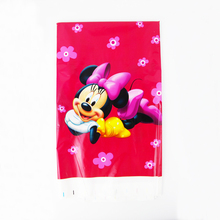 Free Shipping Kid Girl Baby Happy Birthday Party Decoration Kids Supplies Favors Minnie Mouse Table Cloth Size 220cm X 132cm