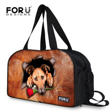 FORUDESIGNS Fashionable New New Bags Large Capacity Animal Dog Cat Luggage Boarding Bag Women Men Brand Travel Bags Retail