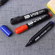3 Colors Marker Pens Point Paint Marker Non-toxic Permanent Marker Pen Oily mark pen DIY Art Marker School and Office Supplies