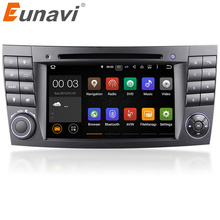 Eunavi Android 7.1 2G RAM 1024*600px HD capacitive screen Car DVD player For BENZ W211 E Class W219 CLS Player GPS TV wifi Radio