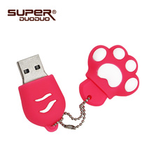 6 Colors High Quality Cat Claw 4GB 8GB 16GB usb pendrive 32GB 64GB Usb Flash Drive USB 2.0 Creative Gift Pendrive Bulk Cheap(China)