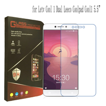 "For Letv Cool 1 Dual Leeco Coolpad Cool1 5.5"" Tempered Glass 9H Ultra Thin Clear Screen Protector Guard With Retail Package(China)"