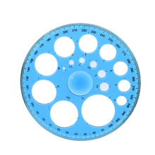 (New Tool 360 Degrees) 11.5 Cm Diameter Circular Template Ruler On A Patchwork Foot Sewing Tool(China)