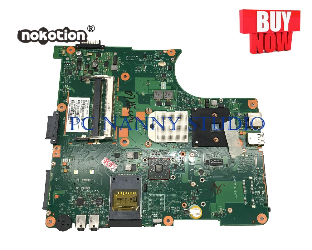 PANANNY V000138200 for Toshiba satellite L300D L305D Laptop Motherboard 6050A2175001 DDR2 with cpu tested