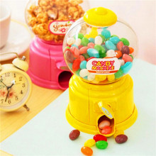 Mini Hot Magic Snack Candy Sweet Nut Gumball Dispensing Machine Boxes Gift Toy Box Decorative Gift For Chridren(China)