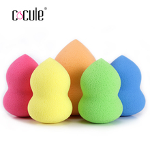 Wholesale 1Pc Beauty Cosmetic Puff Foundation Facial Makeup Sponge Makeup Flawless Beauty Powder Puff Make Up Sponge beauty tool