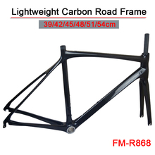 lightweight carbon road frame road bike 700c PF30 BSA system bicycle frameset FM-R868