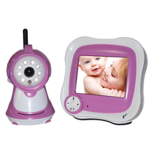 830S 3.5Inch Wireless Digital Baby Monitor LCD Display Two Way Audio With Night Vision Intercom Camera(China)