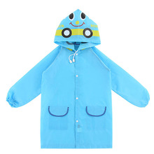 1PC Cartoon Animal Style Waterproof Kids Raincoat For Children Rain Coat Rainwear/Rainsuit Student Poncho Drop Shipping(China)