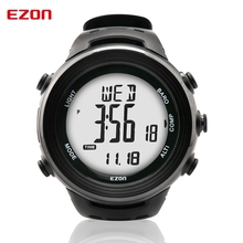 EZON H011E11 Men's Digital Watch Mountaineering Wrist Watch Compass Altimeter Barometer Waterproof