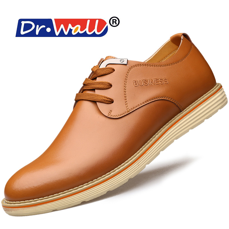 2016 Rushed 2017 New Arrival Genuine Leather Flats Shoes Men Business Dress Mens Breathable Clh9830 <br><br>Aliexpress