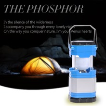 Flashlight LED Solar Camping Lamp Telescopic Light Rechargeable Zoom Solar Flash Light Energy-saving TentLanterns Power Bank