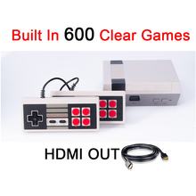 HDMI Out Mini Portable TV Handheld Game Console Video Game Console Games Built-in 600 Different Games PAL&NTSC With HDMI Output
