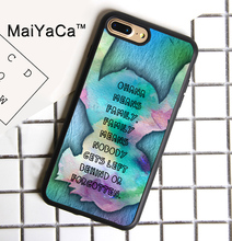 MaiYaCa Ohana Outline Blue Stitch Printed Phone Case For iPhone 7 Plus Cases Soft TPU Back Cover Capa Coque For iPhone 7 Plus