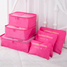New Only Travel admission six sets of luggage waterproof clothing storage bag 6 sets of packages(China)