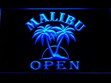 067 Malibu Beer OPEN Bar LED Neon Sign with On/Off Switch 20+ Colors 5 Sizes to choose(China)