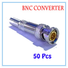 50 pieces All copper-free solder BNC  Balun passive Transceiver For CCTV IP Camera Power Supply Surveillance Accessories