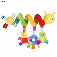 Activity Spiral Stroller Car Seat Travel Lathe Hanging Toys Baby Rattles Toy #T026#