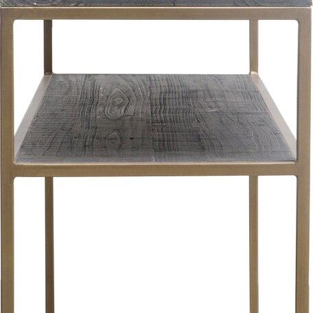 STUDIO CONSOLE TABLE BRASS (2)