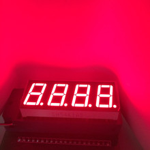 5pcs LED Display 0.56 inch 7 Segment 4 Digital Number Display Numbers Module Segmentos RED LED Module Common Cathode or Anode(China)