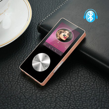 Hot Bluetooth MP3 MP4 player, all metal Hifi MP4 sport player with speaker, recorder pen with screen card, mini Walkman