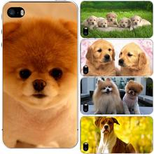 2017 Wholesale 5pcs/lot dog Protective White Hard Plastic Case For Iphone 5 5S Cases Coque Capa