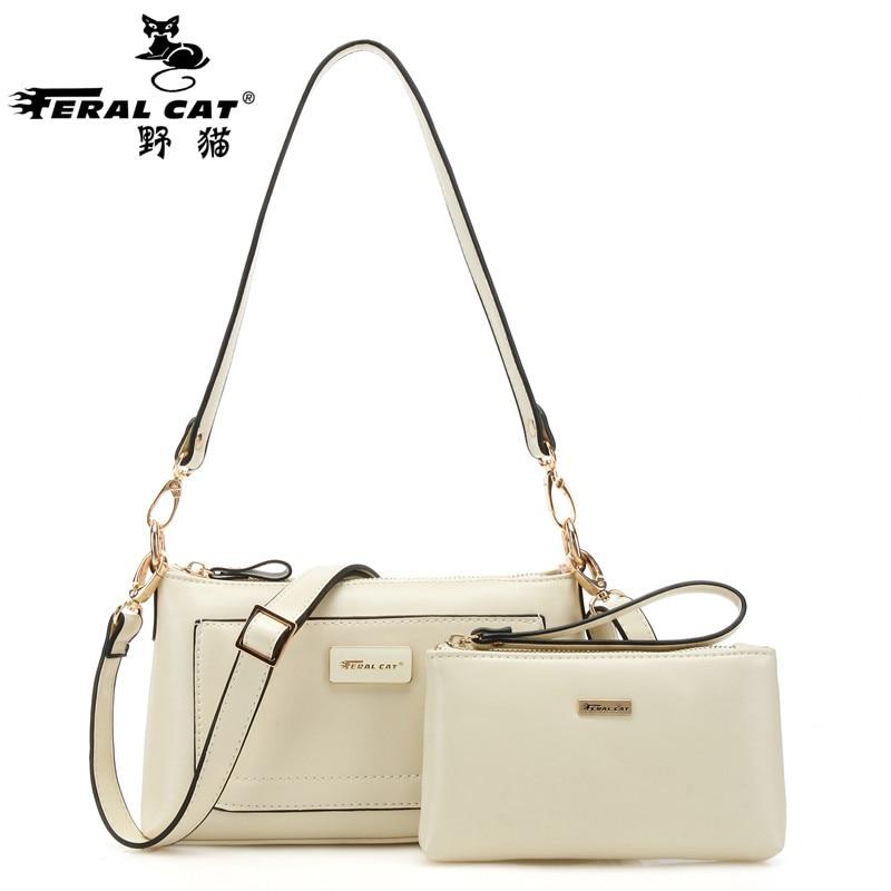 Women Genuine Leather Handbags composite Bag Girls Messenger mini Shopping Bag ladys Crossbody Bags Female small Shoulder Bag <br>