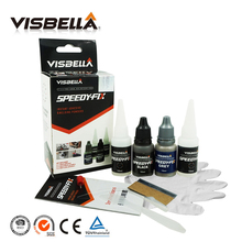 Visbella 7 second quick bonding for metal steel plastic wood rubber ceramic Repair Fast Dry Glue Reinforcing Adhesive speedy fix(China)