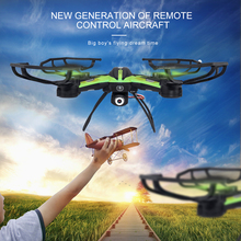 New WIFI Drone HD Camera 6 Channel 2.4G 6-Axis Remote Control Helicopter Quadcopter With 2MP HD Camera 360 Degree Eversion(China)