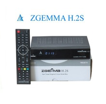 Zgemma Star H.2S Satellite Receiver 2000 DMIPS CPU PROCESSOR Linux OS DVB-S2 Twin Tuner Decoder Hot In UK Italy France Spain