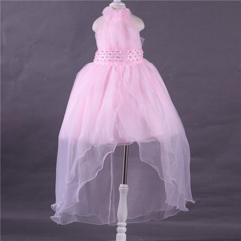 Kids Dress Girl Flower Petals Dress Children Bridesmaid Toddler Elegant Dress Pageant Vestido Infantil Tulle Formal Party Dress<br>