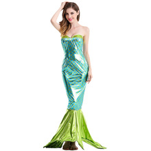 Adult Mermaid Costumes New Halloween Romantic Beauty Sea Maid Fancy Dress Cosplay For Girls(China)