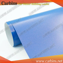Gloss blue metallic film 3m diamond film vinyl car wrap folien paper(China)