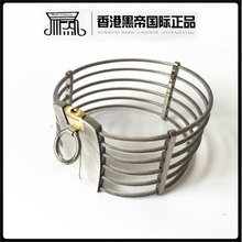 Buy HOT fashion stainless steel metal bondage restraints neck collar slave bdsm collars feish sex toys adult games products