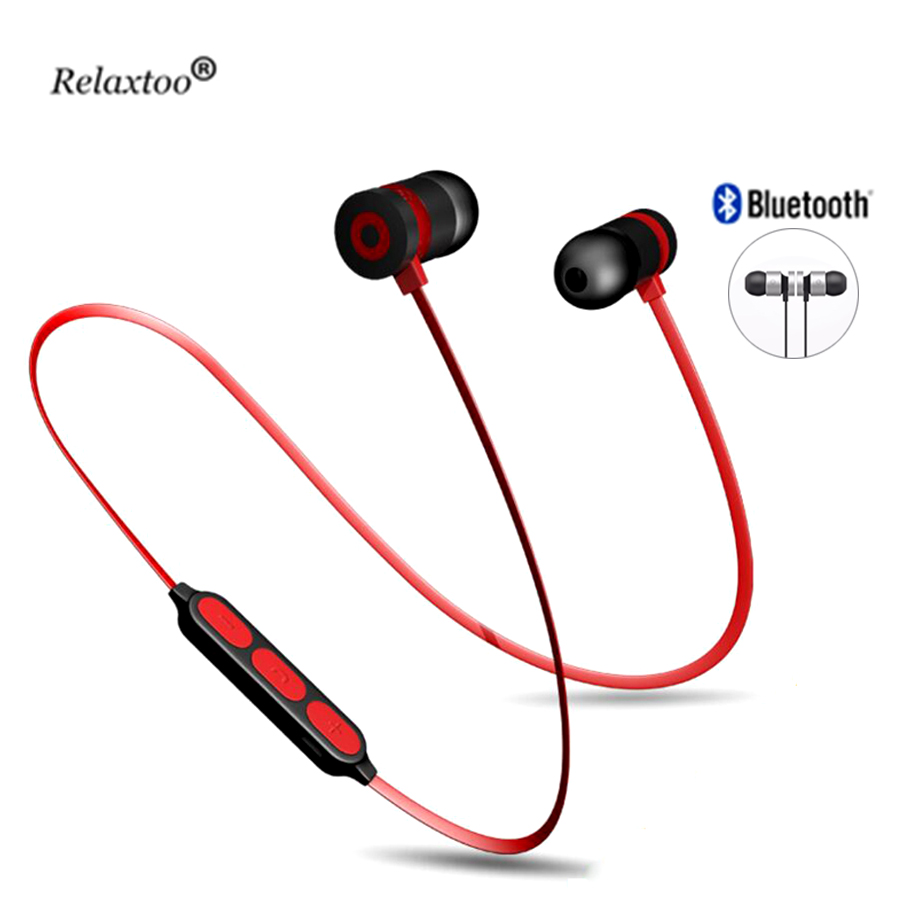 Strong Magnetic Wireless earphone bluetooth headphones super bass 3D Stereo bloototh earbuds sport headset Earpiece handsfree